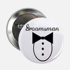 "Groomsman 2.25"" Button"
