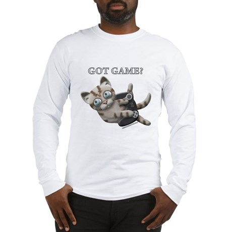 Got Game Kitten Long Sleeve T-Shirt