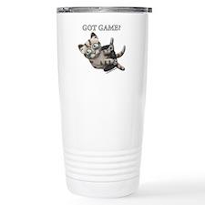 Got Game Kitten Travel Coffee Mug