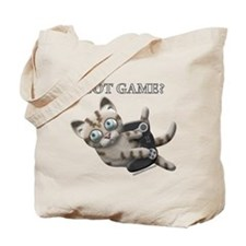 Got Game Kitten Tote Bag