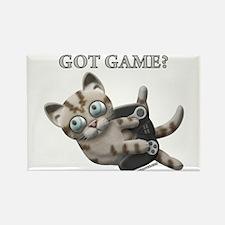 Got Game Kitten Rectangle Magnet