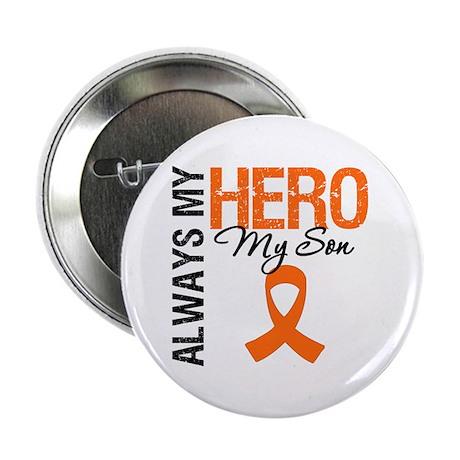 """Leukemia Hero Son 2.25"""" Button"""