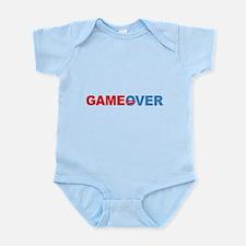 Anti Obama Game Over Infant Bodysuit