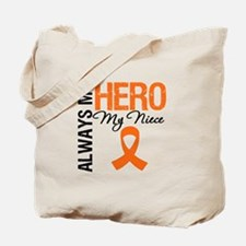 Leukemia Hero Niece Tote Bag