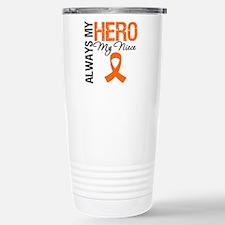 Leukemia Hero Niece Travel Mug