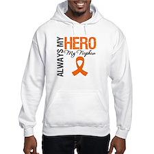 Leukemia Hero Nephew Hoodie