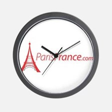 Paris France Original Merchan Wall Clock