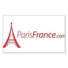 Paris France Original Merchan Rectangle Decal