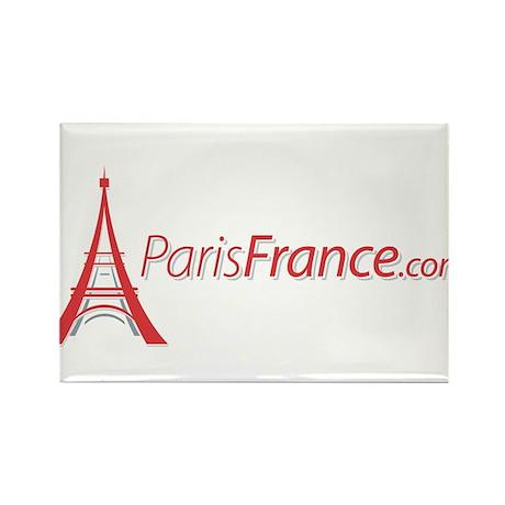 Paris France Original Merchan Rectangle Magnet