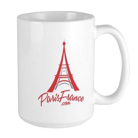Paris France Original Merchan Large Mug