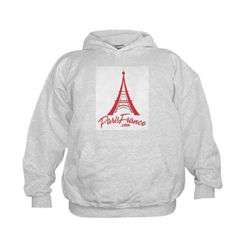 Paris France Original Merchan Kids Hoodie