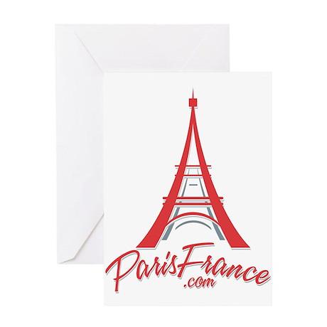 Paris France Original Merchan Greeting Card
