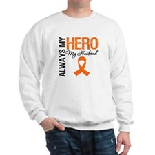 Leukemia Hero Husband Sweatshirt
