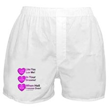 Candy Hearts Boxer Shorts