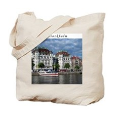 Stockholm Waterfront Tote Bag