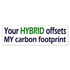Your Hybrid Bumper Bumper Sticker