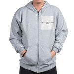 My Ex-Husband is and Asshole Zip Hoodie