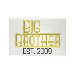Big Brother Est 2009 Rectangle Magnet (100 pack)