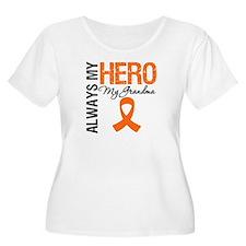 Leukemia Hero Grandma T-Shirt
