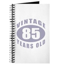 85th Birthday Gifts For Him Journal