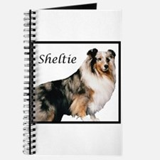 Sheltie With Breed Name Journal