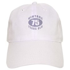75th Birthday Gifts For Him Baseball Cap