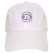 75th Birthday Gifts For Him Cap