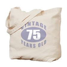 75th Birthday Gifts For Him Tote Bag