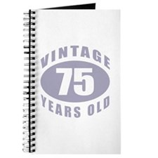 75th Birthday Gifts For Him Journal
