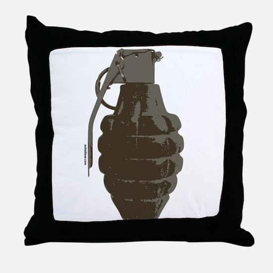 HAND GRENADE Throw Pillow