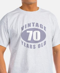 70th Birthday Gifts For Him T-Shirt