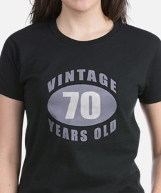 70th Birthday Gifts For Him Tee