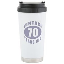 70th Birthday Gifts For Him Travel Mug