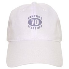 70th Birthday Gifts For Him Baseball Cap
