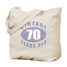 70th Birthday Gifts For Him Tote Bag