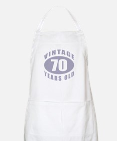 70th Birthday Gifts For Him BBQ Apron