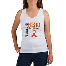 Leukemia Hero Brother Women's Tank Top