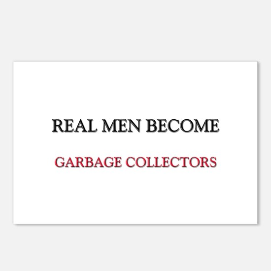 Real Men Become Garbage Collectors Postcards (Pack