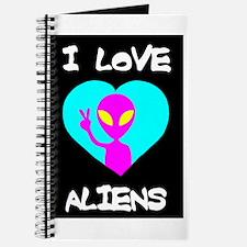 I Love Aliens Journal