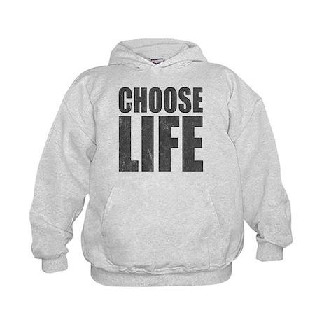 Choose Life Kids Hoodie