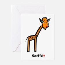 Orange Girrafalo Greeting Cards (Pk of 10)