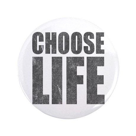 "Choose Life 3.5"" Button (100 pack)"