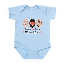 Peace Love Microbiology Infant Bodysuit