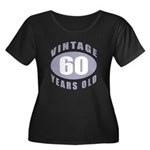 60th Birthday Gifts For Him Women's Plus Size Scoo