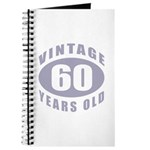 60th Birthday Gifts For Him Journal