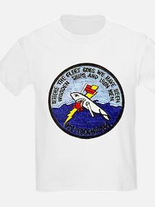 USS PLUCK Kids T-Shirt