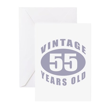 55th Birthday Gifts For Him Greeting Cards (Pk of