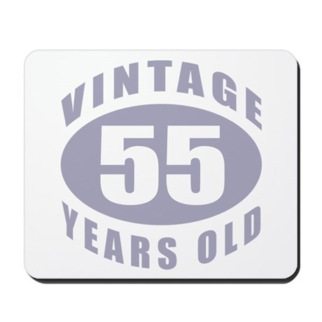 55th Birthday Gifts For Him Mousepad