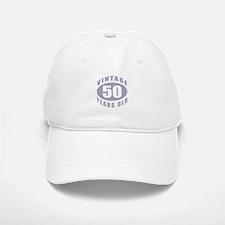 50th Birthday Gifts For Him Baseball Baseball Cap