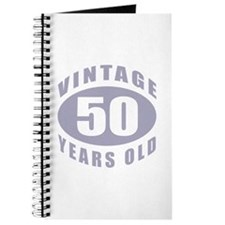 50th Birthday Gifts For Him Journal